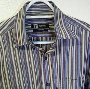 FERRANTE men's long sleeve shirt